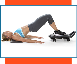 Ab Dolly glute exercise