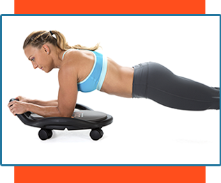 AB Dolly Plank exercise